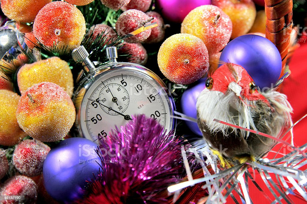 five seconds to new year royalty-free stock photo
