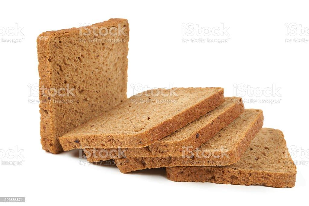 Five slices stock photo