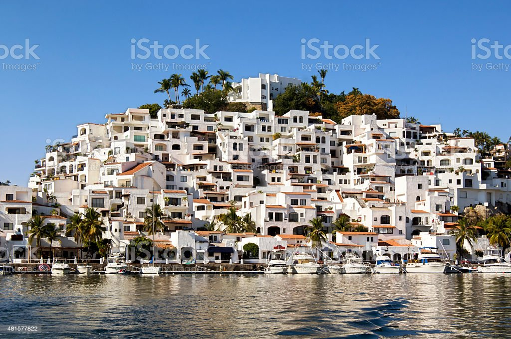 Five Star Hotel, Manzanillo, Mexico stock photo