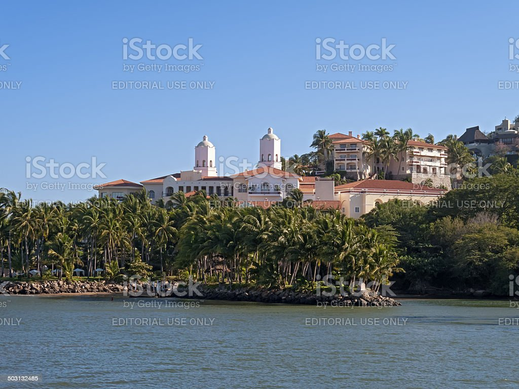 Five Star Hotel, Mexico stock photo