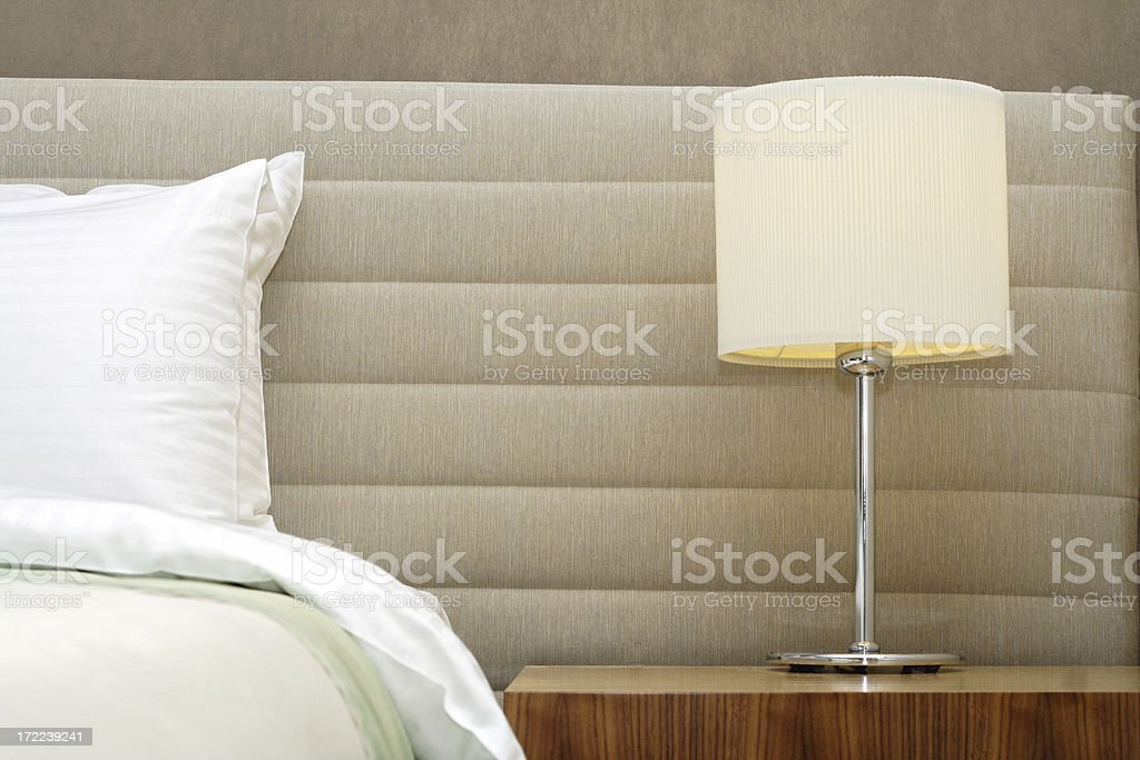 five star hotel room stock photo