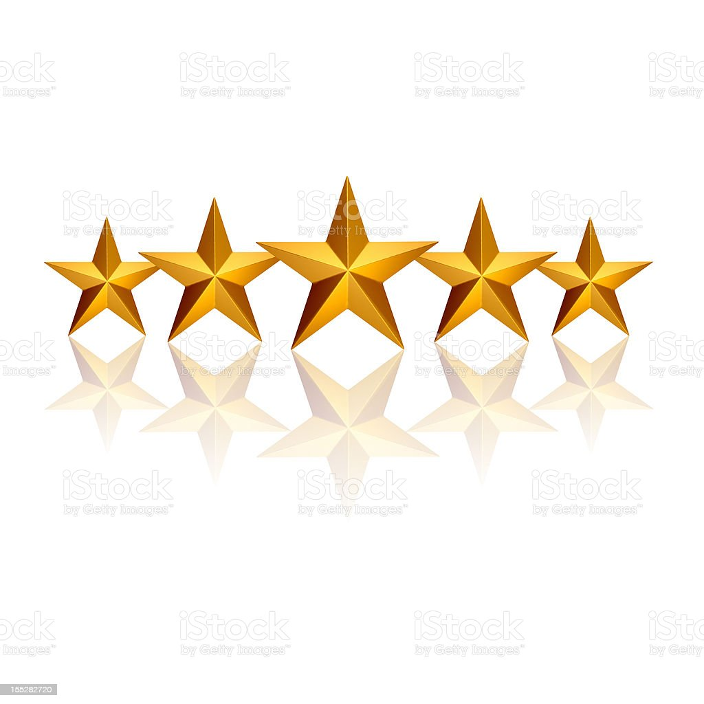Five Stars stock photo