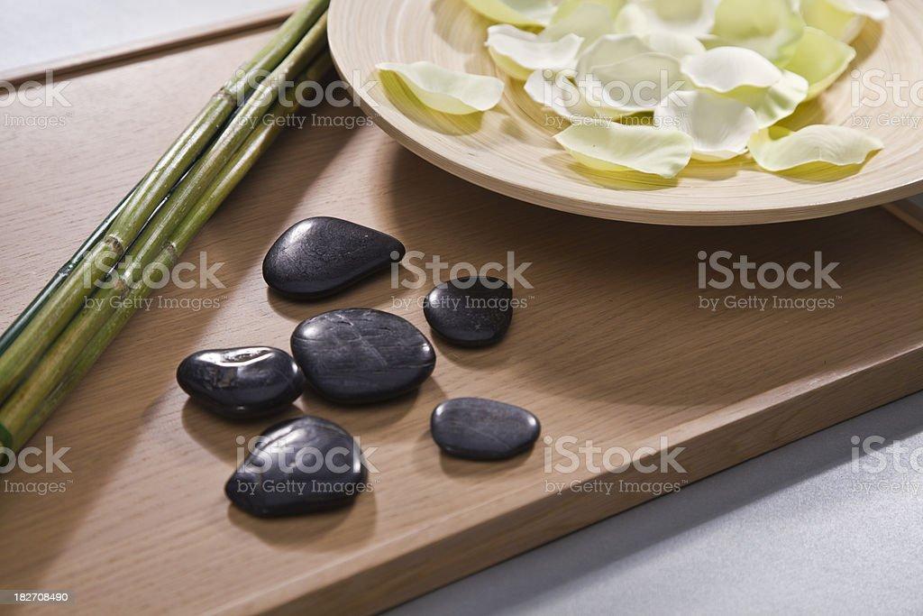 five stones stock photo