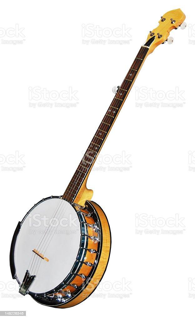 Five String Banjo stock photo