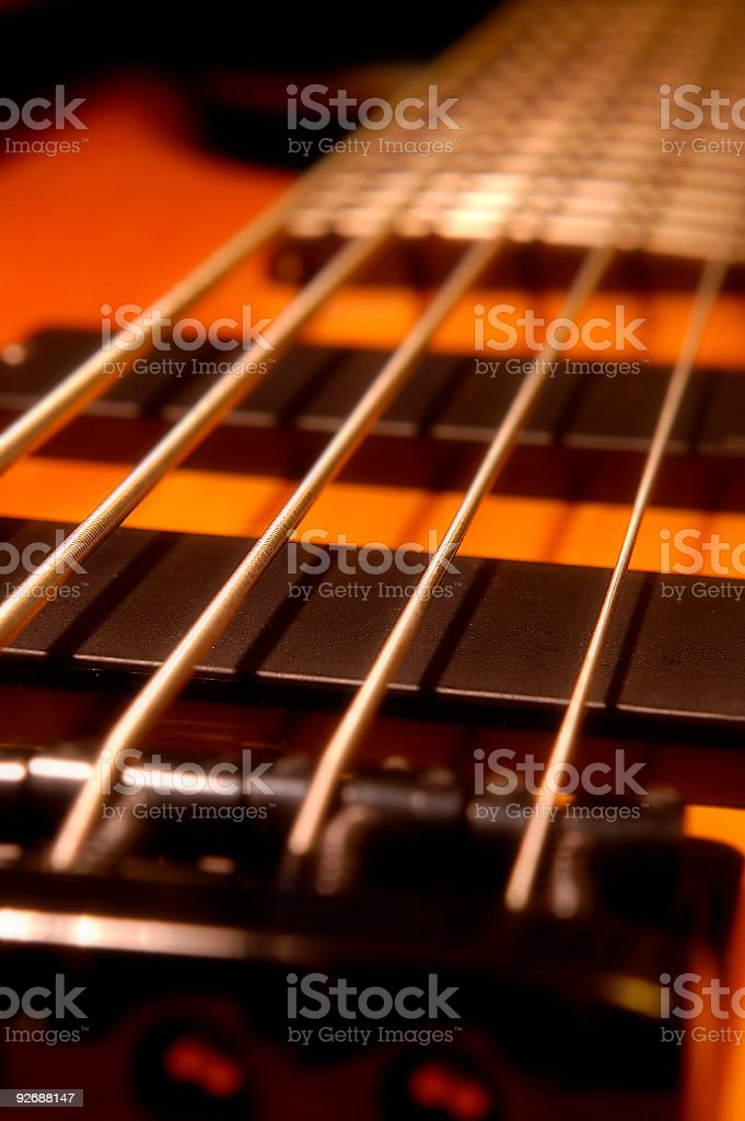 Five String Bass Up stock photo