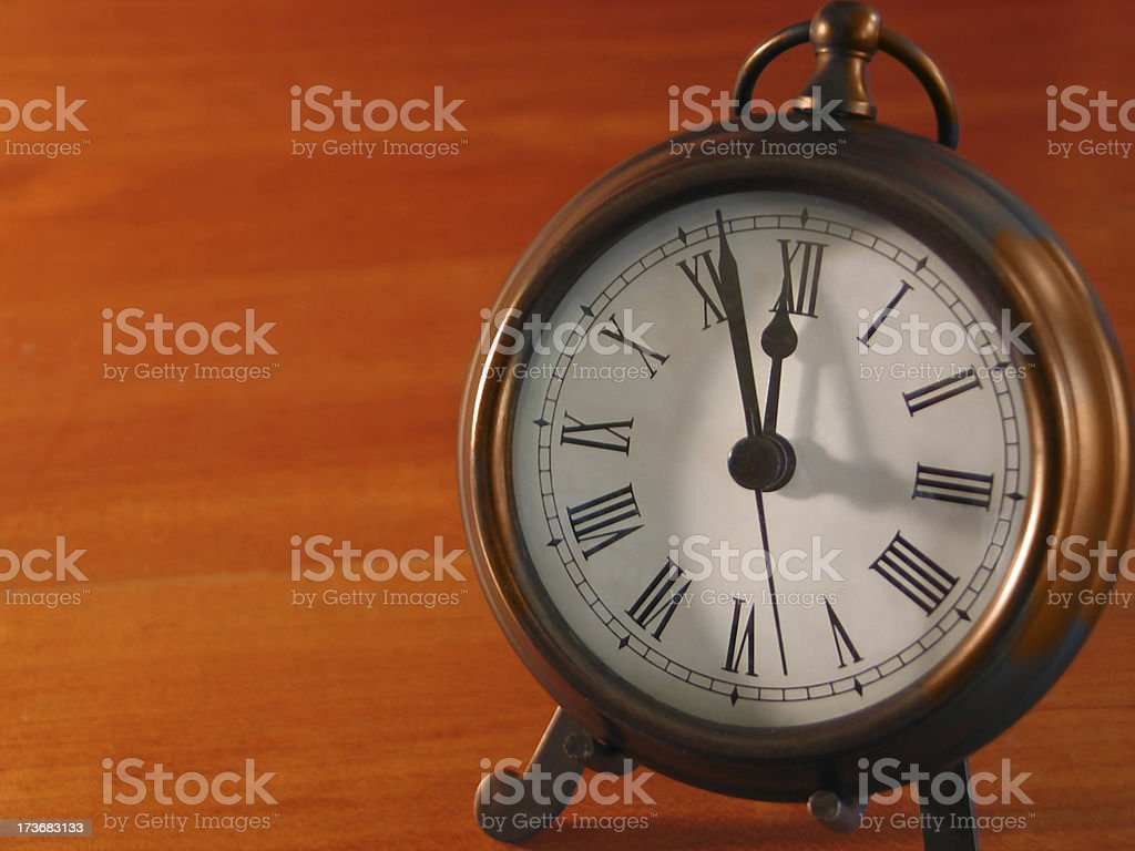 Five Till Noon stock photo