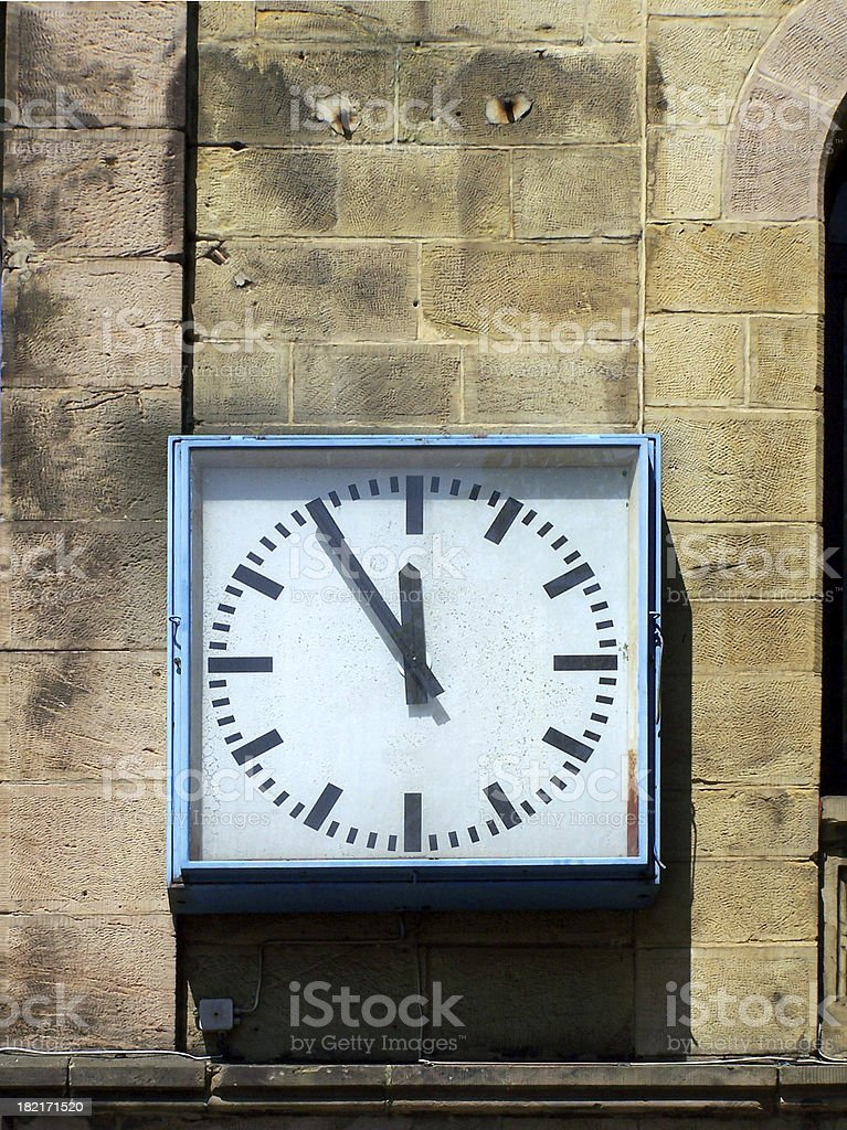 Five to twelve, but not too late !!! royalty-free stock photo