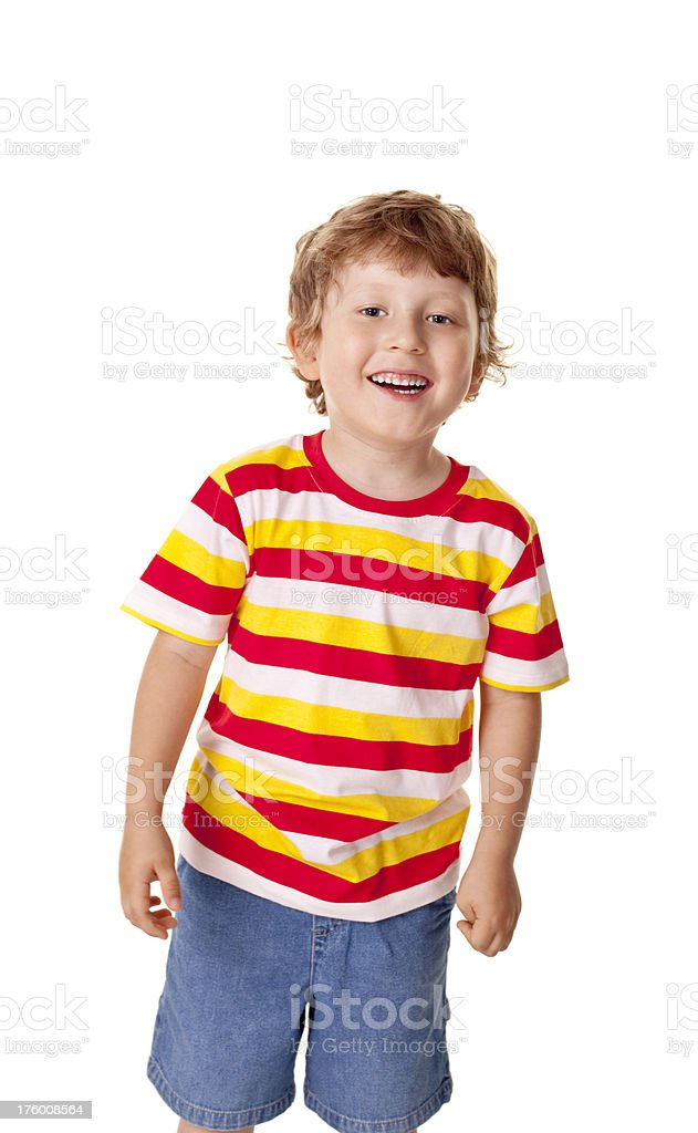 five years old boy royalty-free stock photo