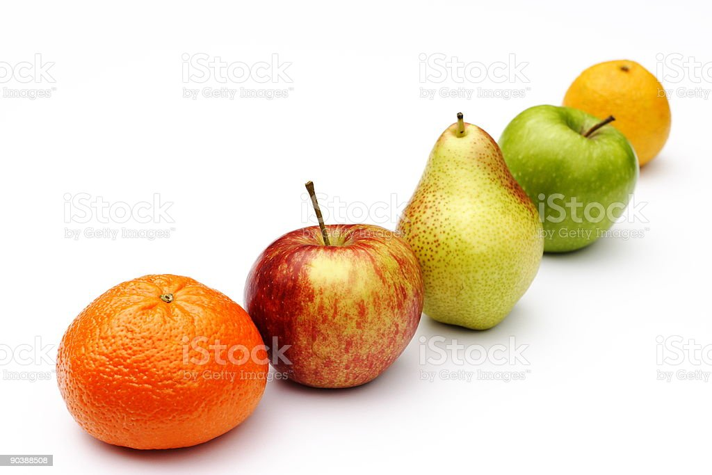 Five-a-day stock photo