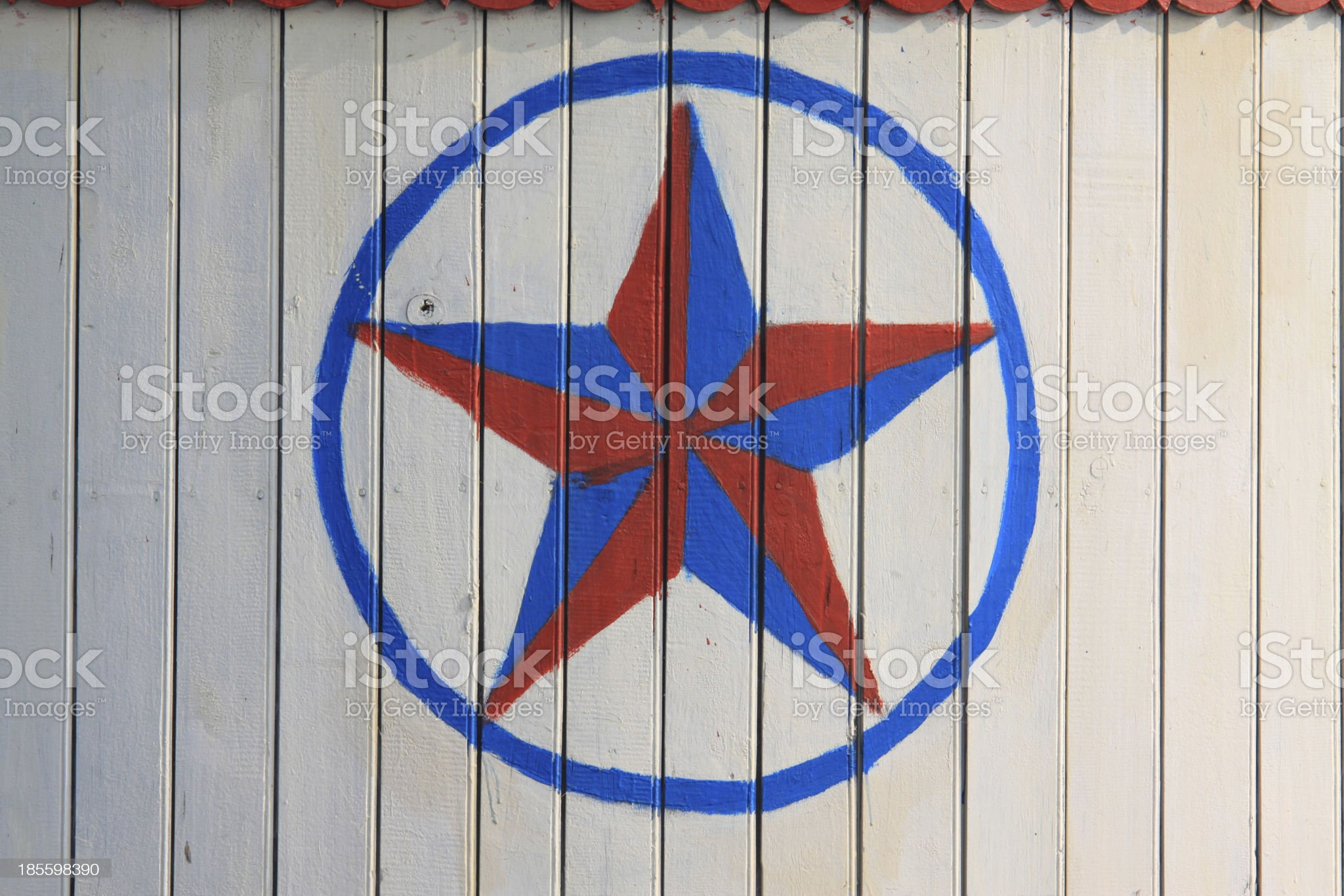 five-pointed star sign royalty-free stock photo