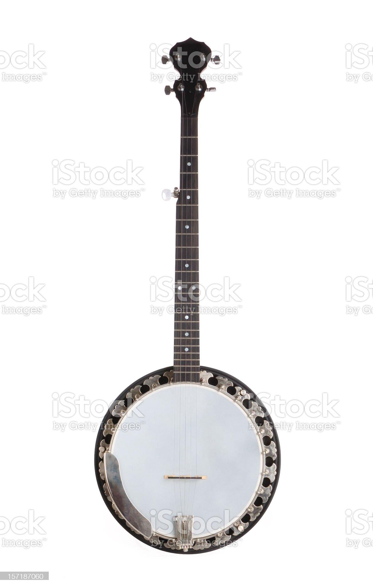 Five-String Banjo royalty-free stock photo
