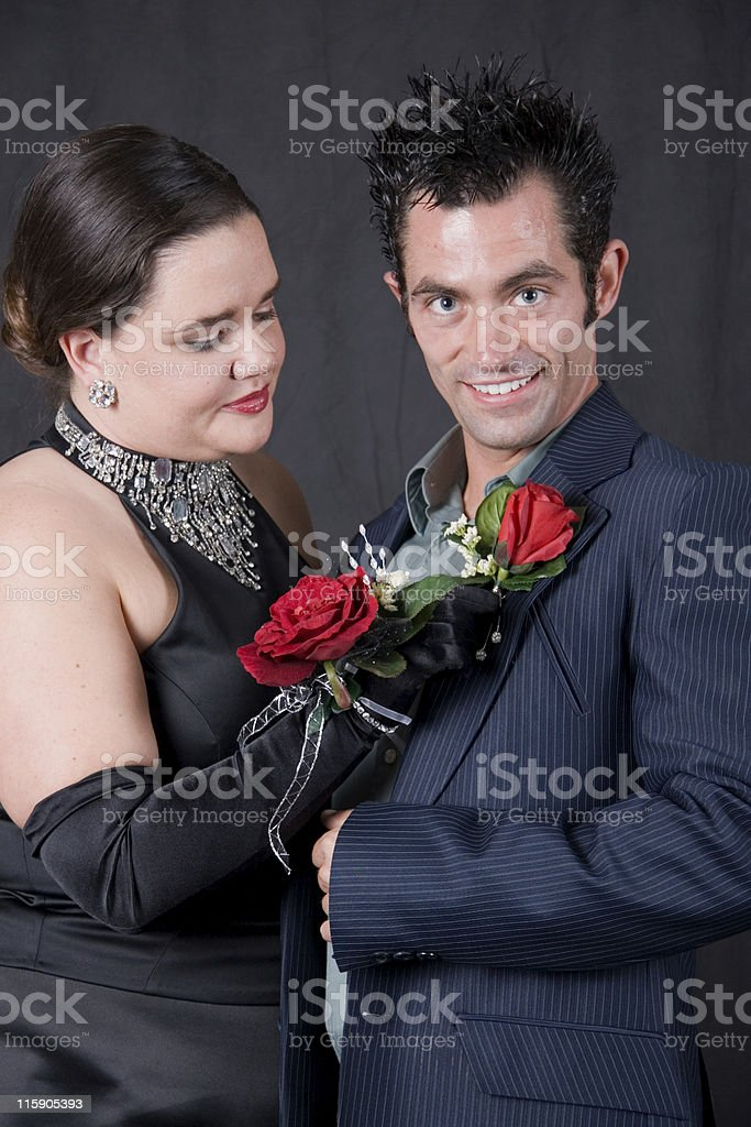 Fix Corsage royalty-free stock photo