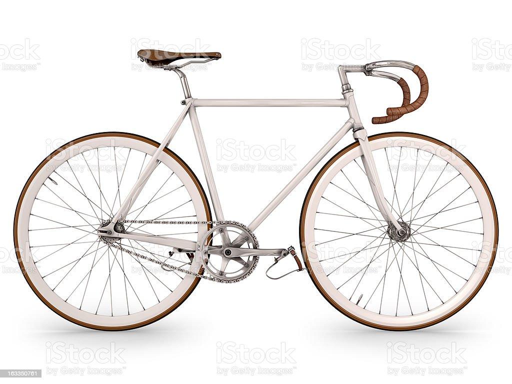 Fixed gear bicyle stock photo