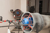 Fixed industrial heater