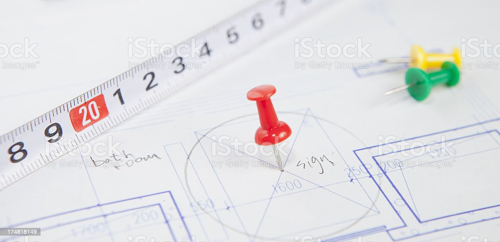 fixed position royalty-free stock photo