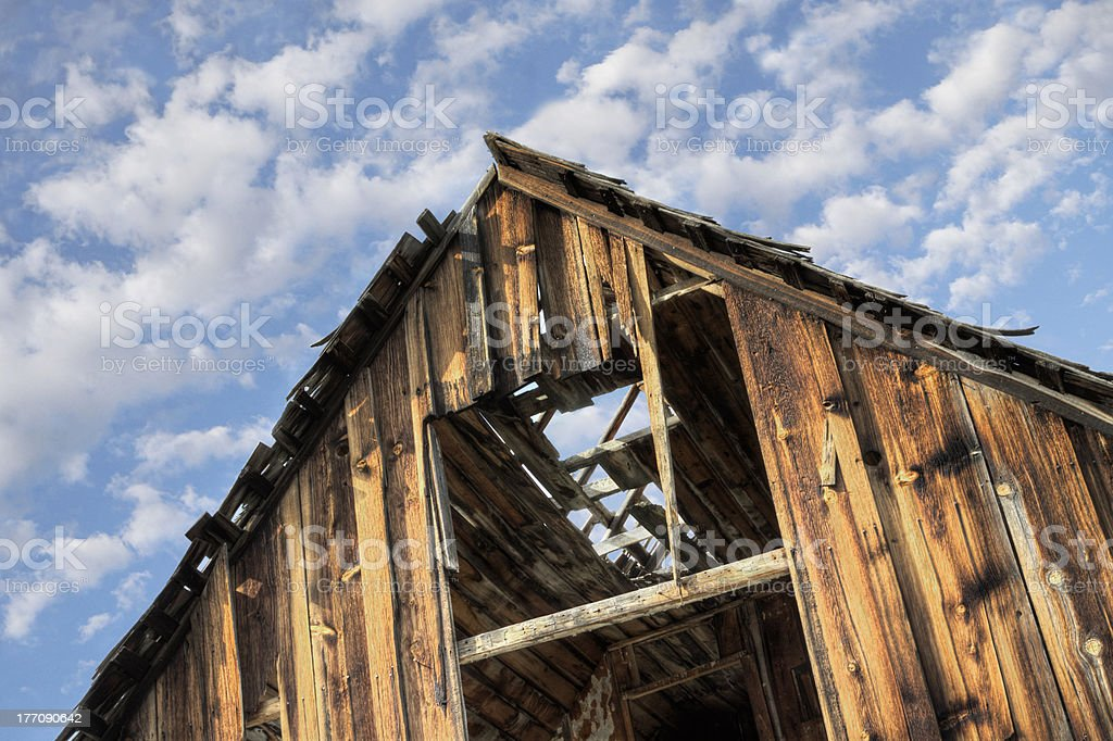 Fixer Upper Pioneer House royalty-free stock photo