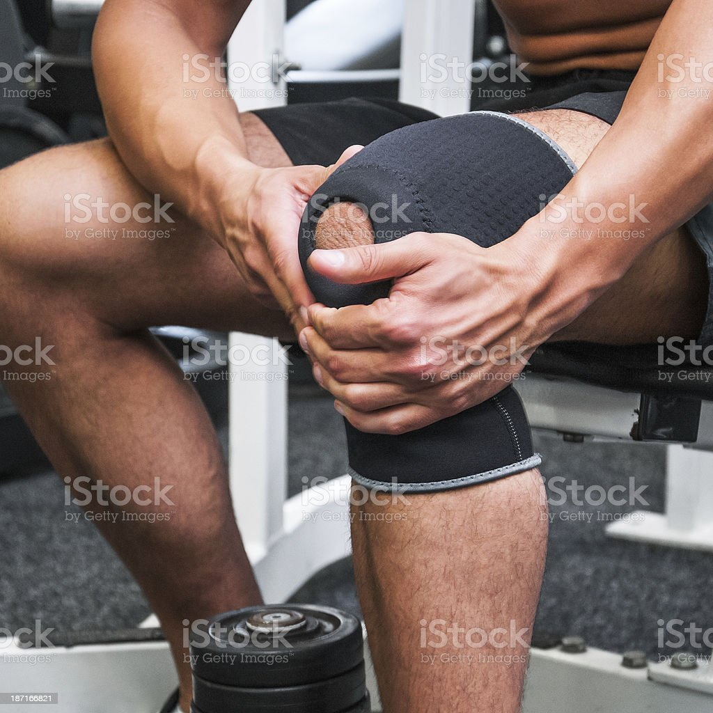 Fixing bandage stock photo