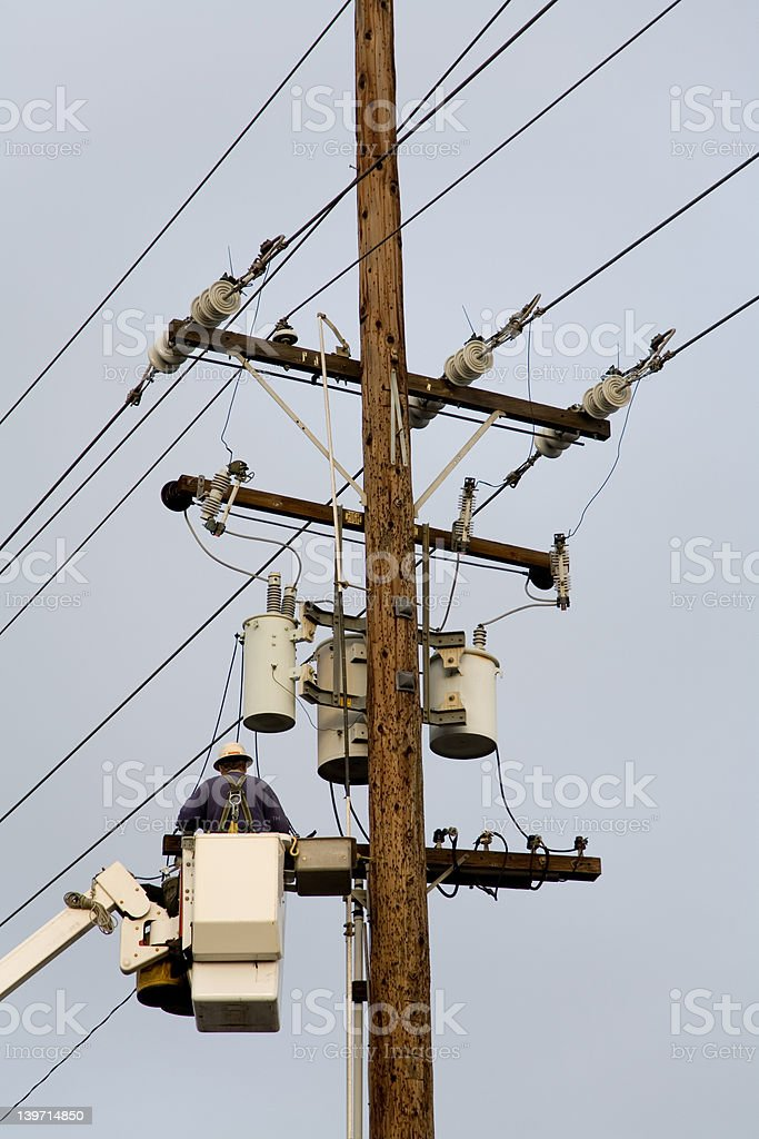 Fixing power royalty-free stock photo