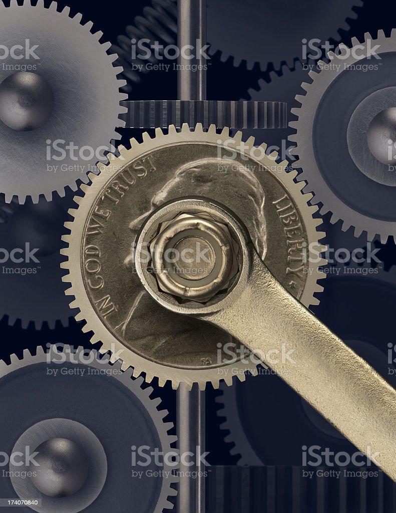 Fixing The Economy stock photo