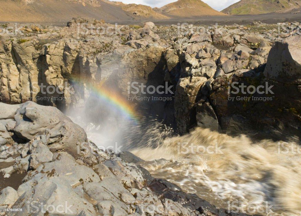 Fjallabak Nature Reserve - Innri Emstrua stock photo