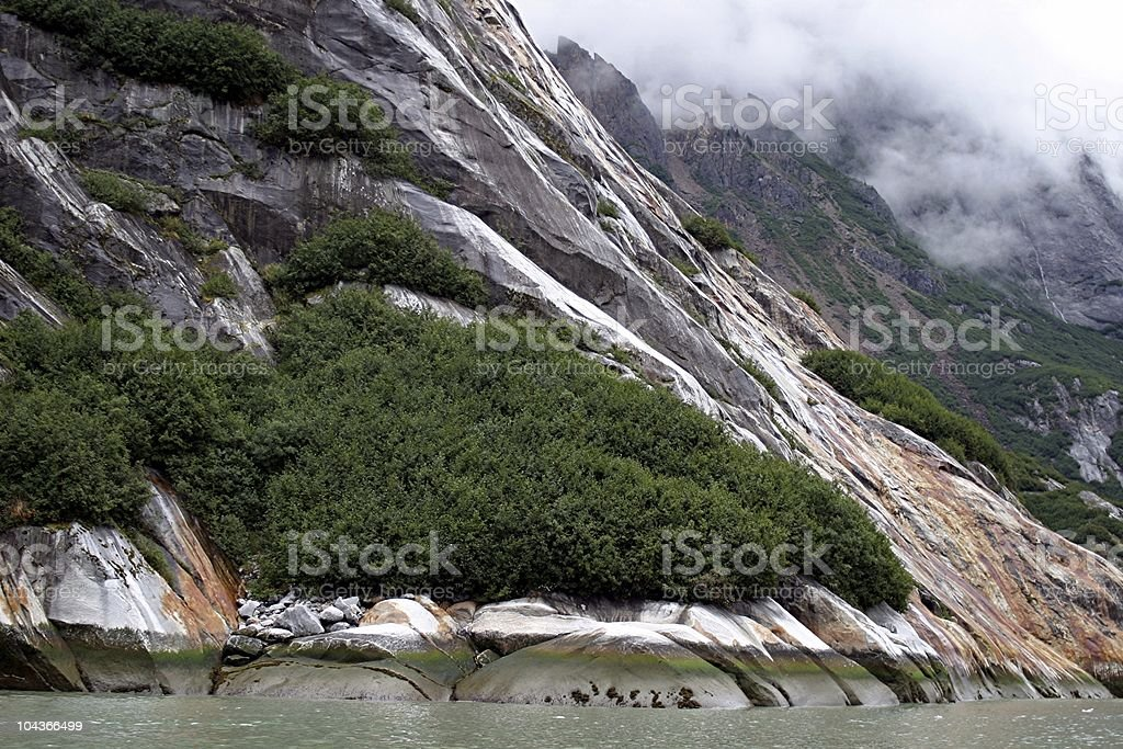 Fjord at Low Tide stock photo