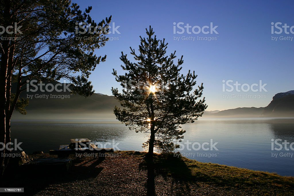 Fjord Light 1 royalty-free stock photo