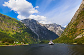 Fjord Sognefjord - Norway