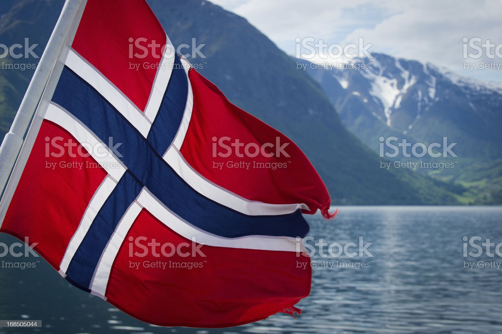 Fjords of Norway royalty-free stock photo