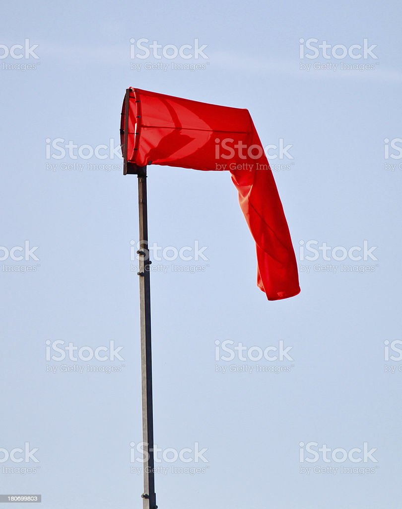 Flaccid Wind Sock stock photo