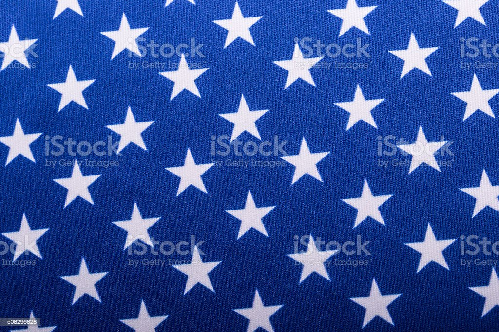 USA flag. American flag. American flag blowing wind. Close-up. stock photo