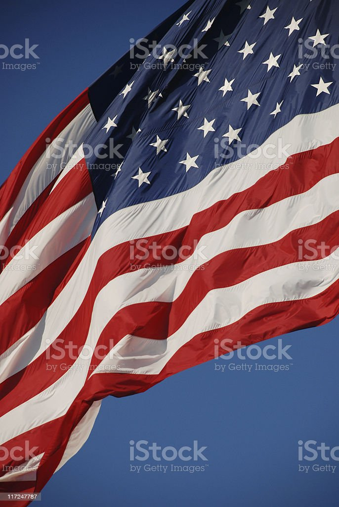 US Flag background royalty-free stock photo