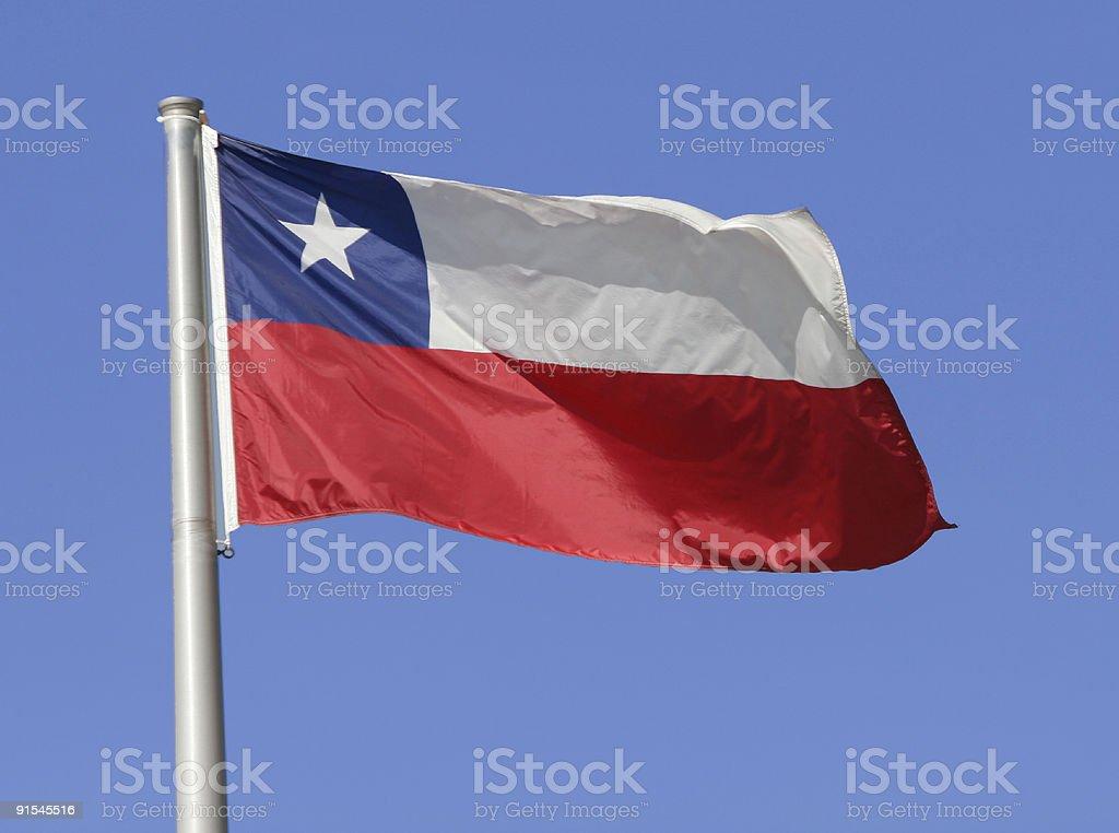 Flag: Chile stock photo
