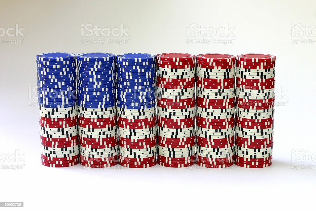 Flag Chips stock photo
