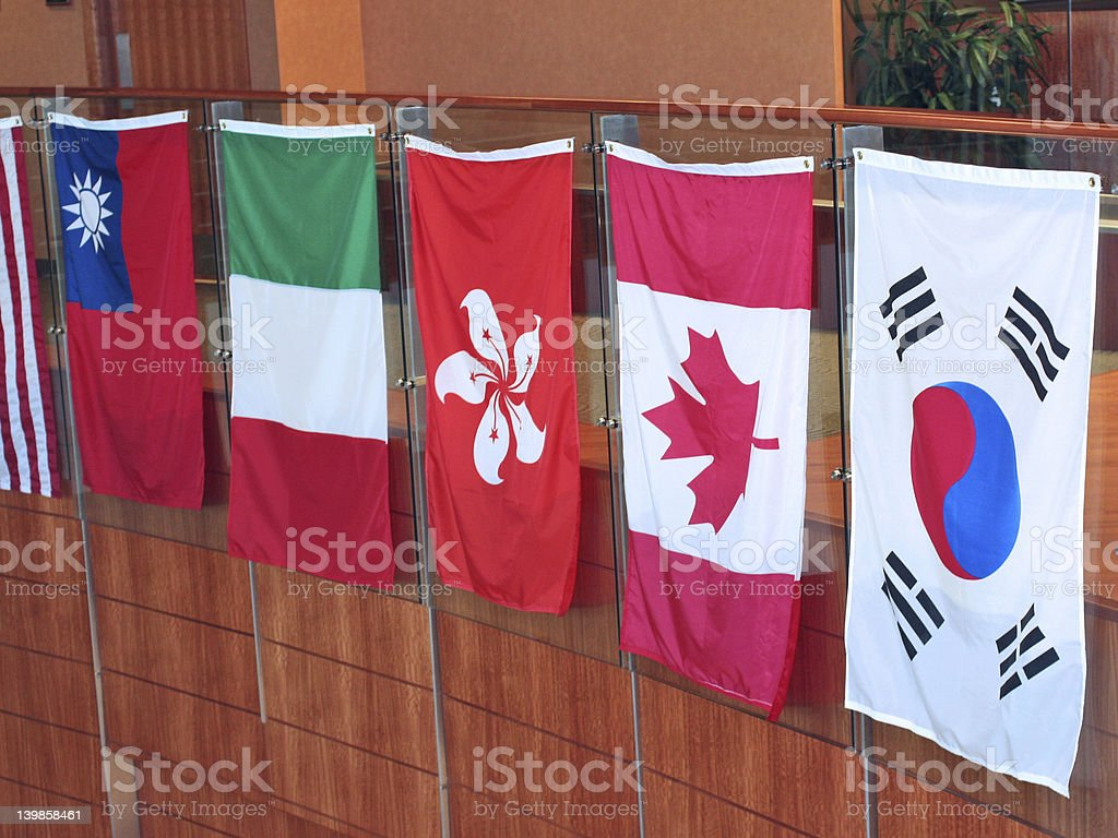 Flag Collection royalty-free stock photo