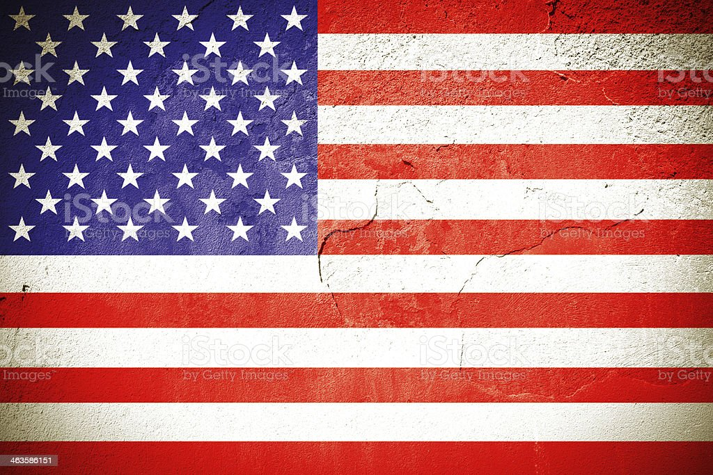 Flag of America royalty-free stock photo
