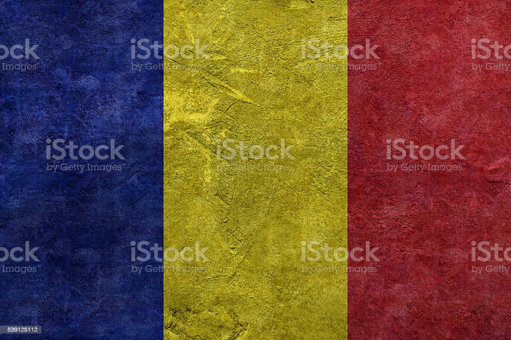 Flag of Andorra stock photo