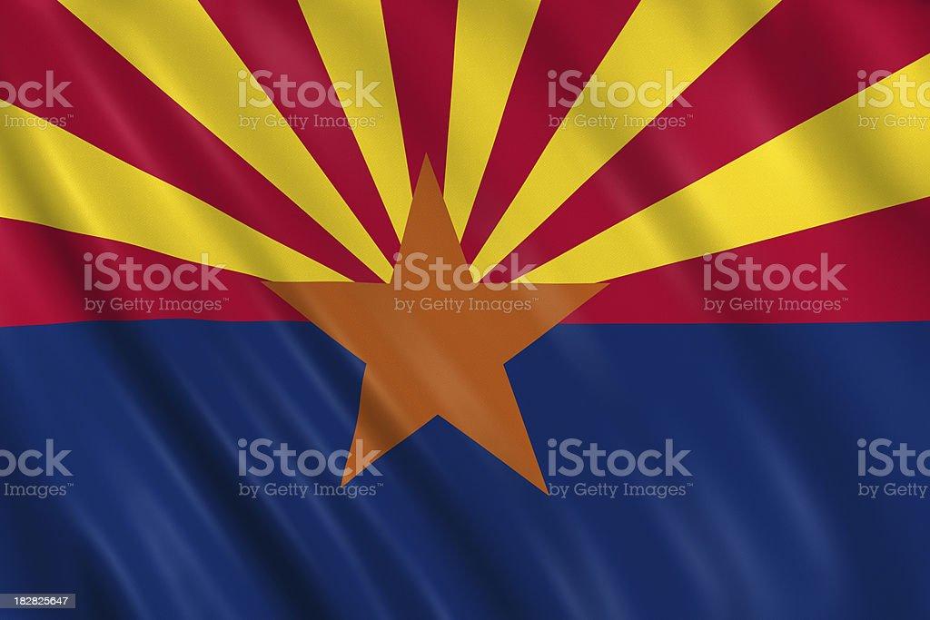 flag of arizona royalty-free stock photo