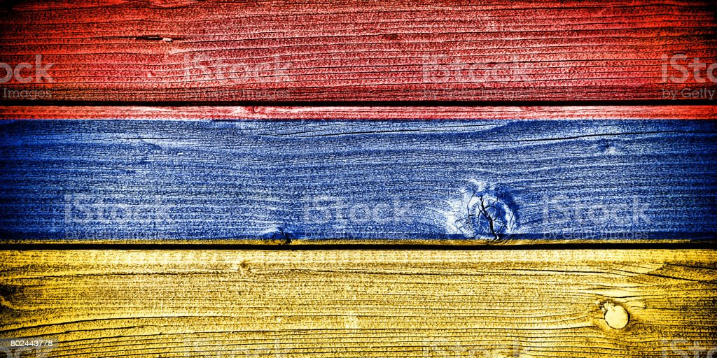 flag of Armenia stock photo