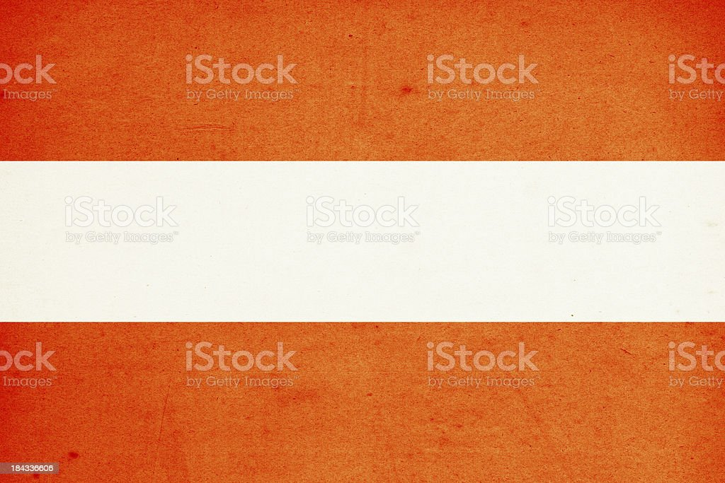 Flag of Austria Close-Up (High Resolution Image) royalty-free stock photo