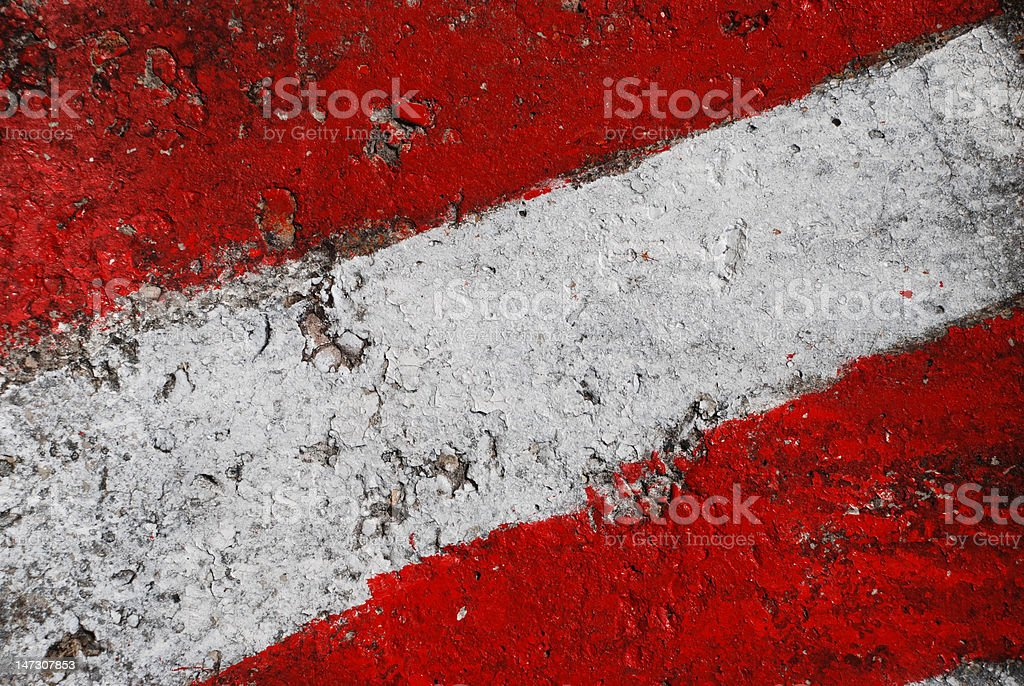 Flag of Austria on a concrete wall royalty-free stock vector art