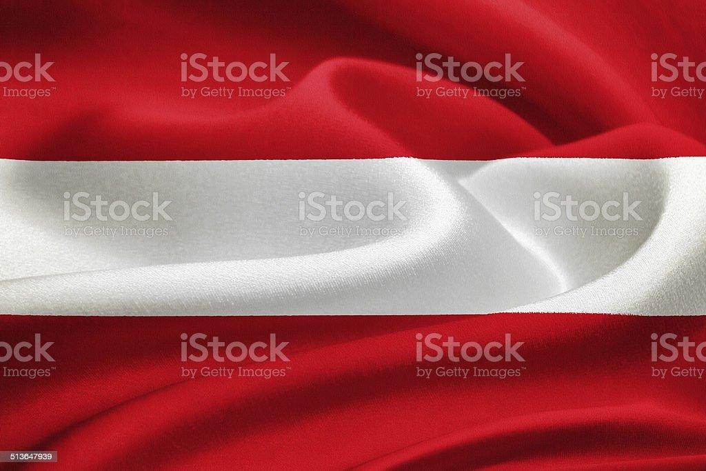Flag of Austria stock photo