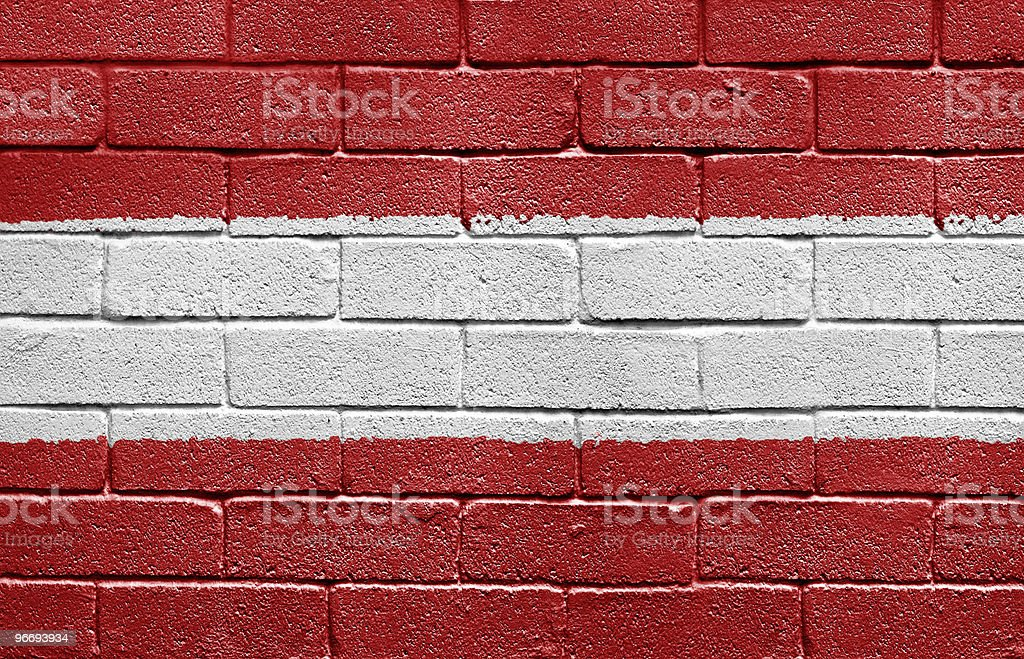 Flag of Austria royalty-free stock photo
