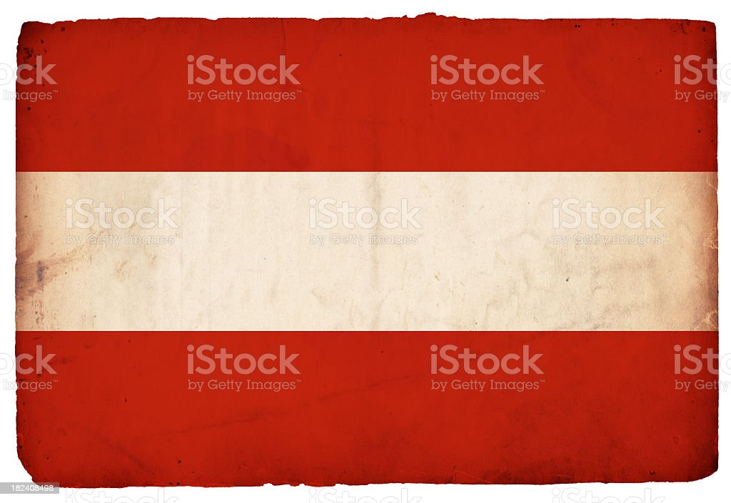 Flag of Austria - XXXL stock photo