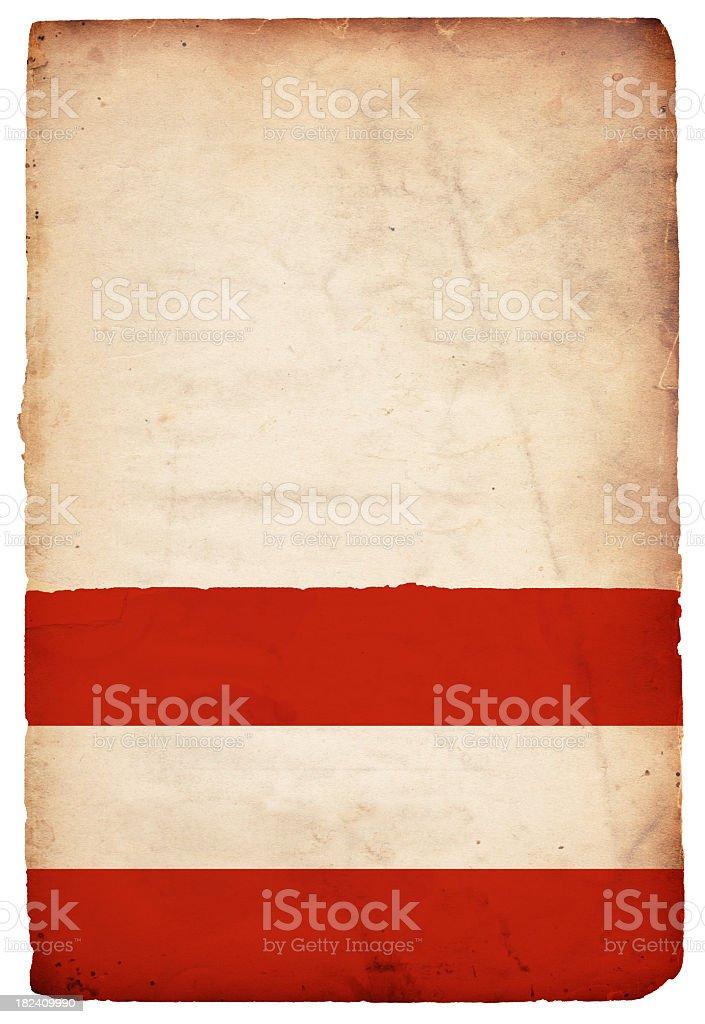 Flag of Austria - XXXL royalty-free stock photo