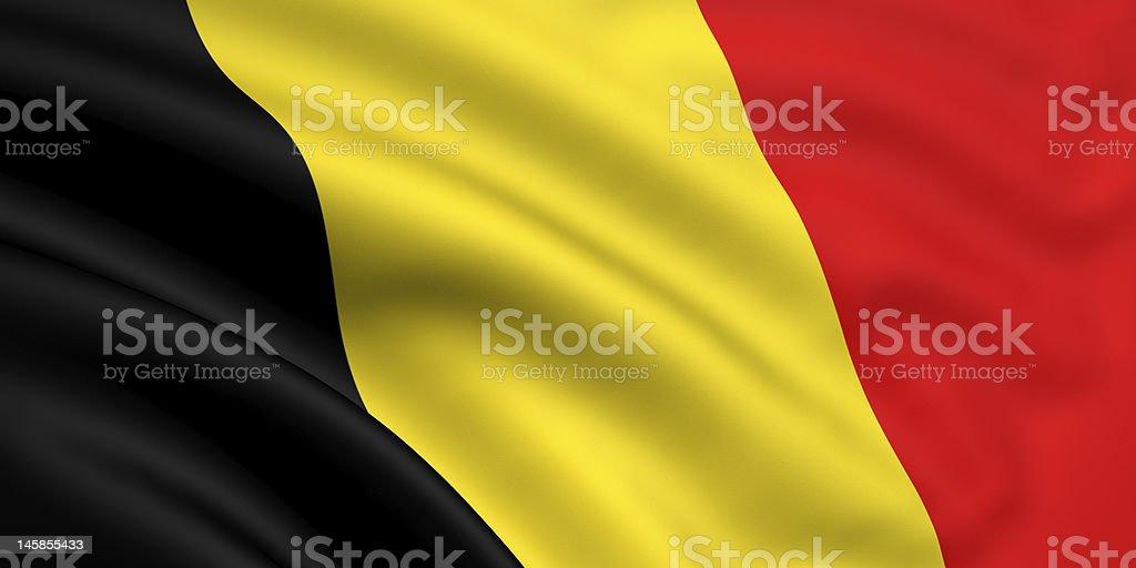 Flag Of Belgium royalty-free stock photo