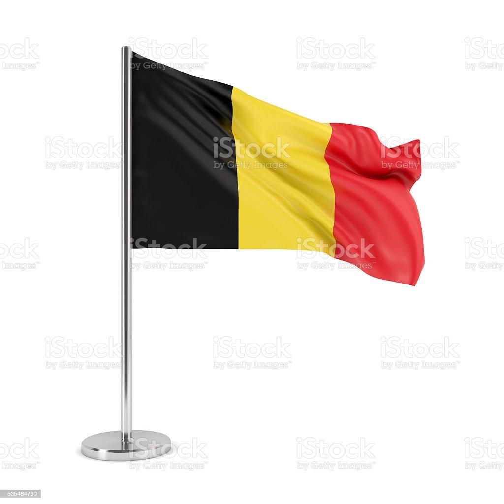 Flag of Belgium stock photo