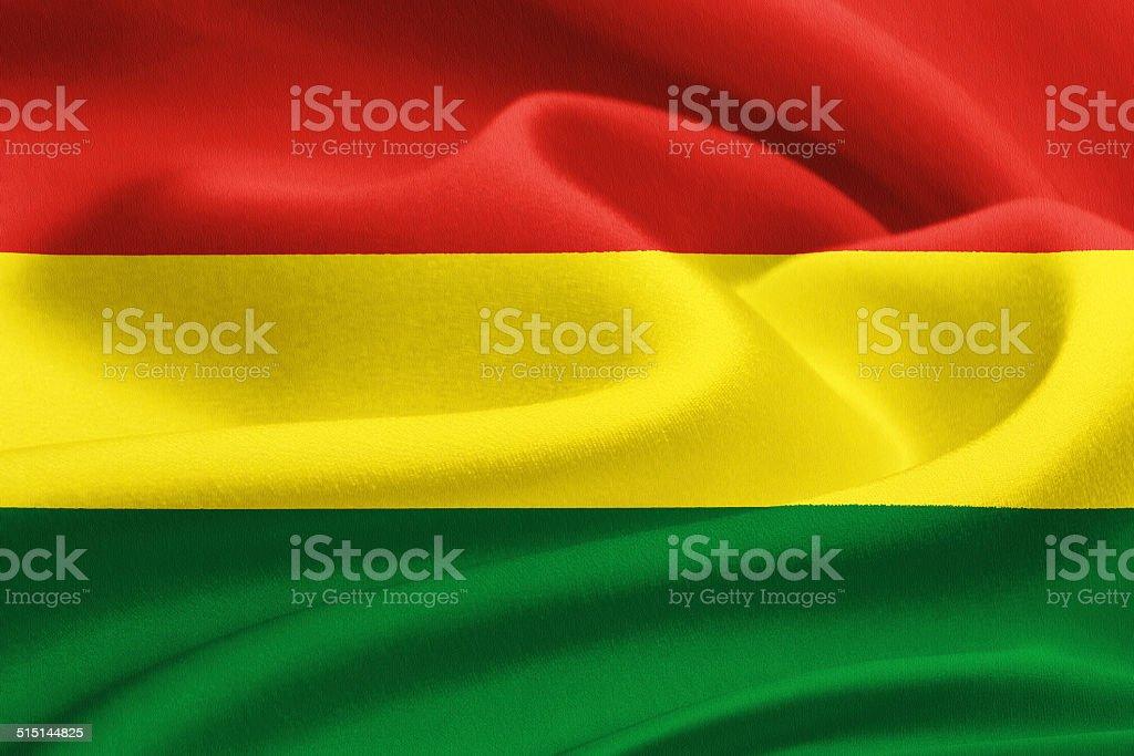 Flag of Bolivia stock photo
