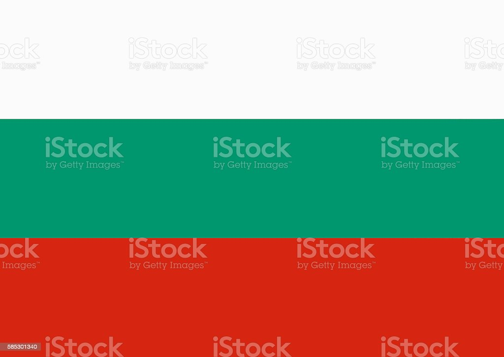 Flag Of Bulgaria stock photo