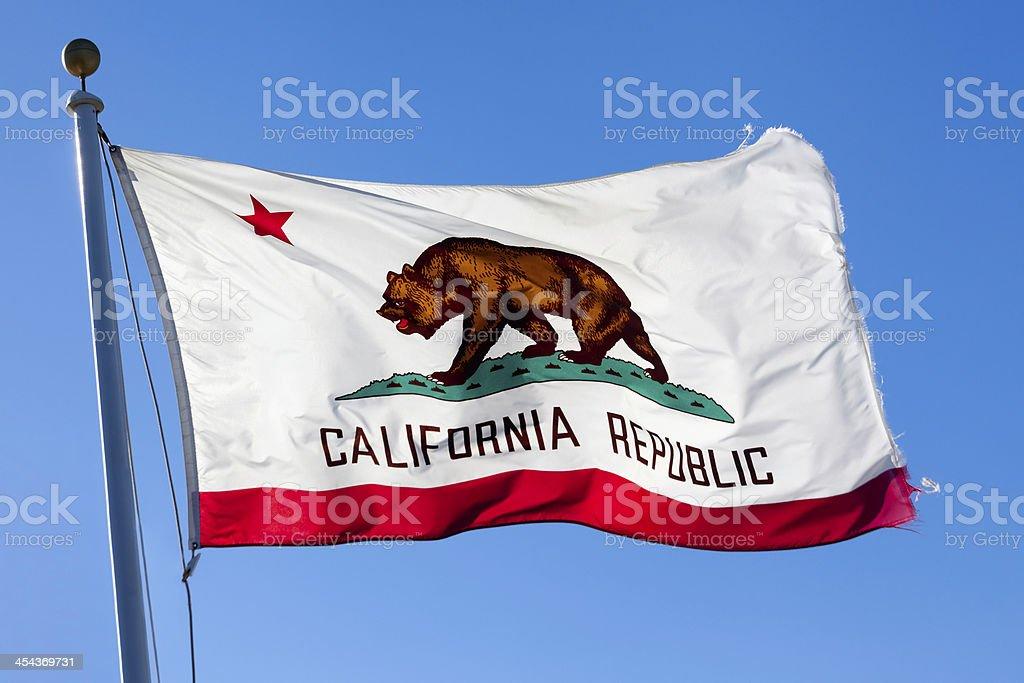 Flag of California stock photo