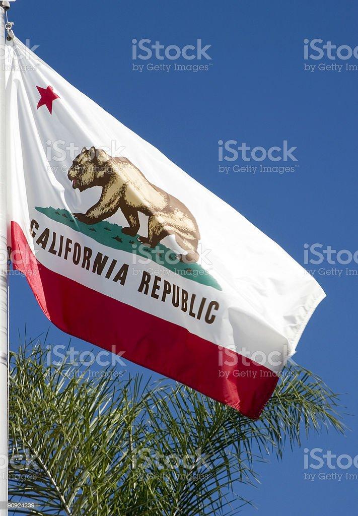 Flag of California royalty-free stock photo